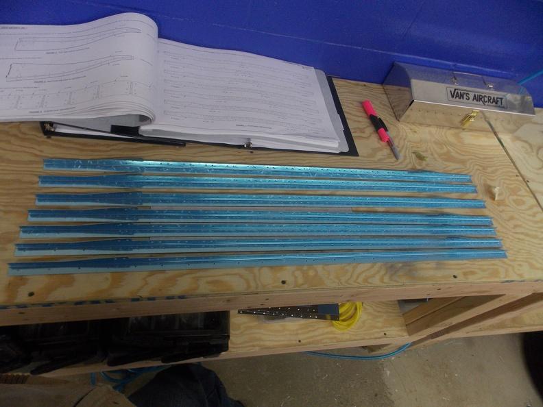 Rudder Start – David's RV-10 Build